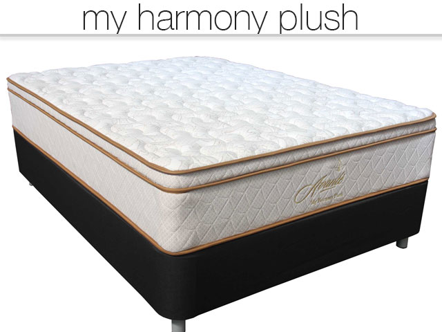 My Harmony Plush - chiropractic luxury mattress, premium mattress and bed frame
