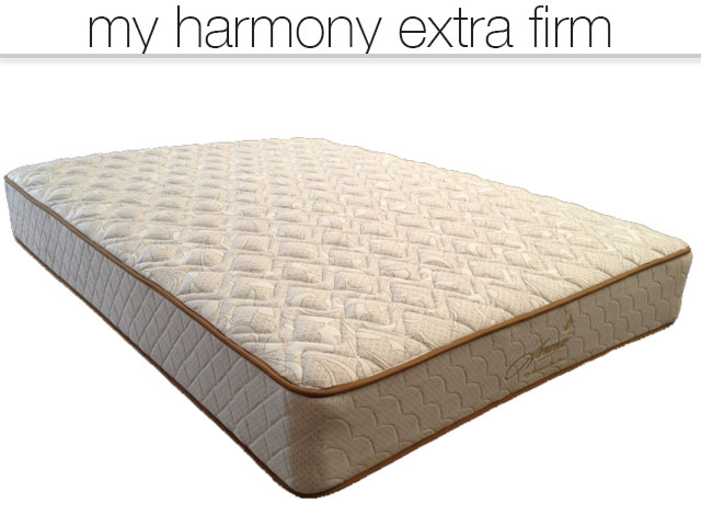 My Harmony X Firm mattress, premium mattress and bed frame