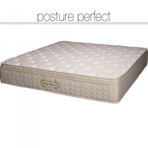 Posture Perfect memory foam mattress, premium mattress on bed frame