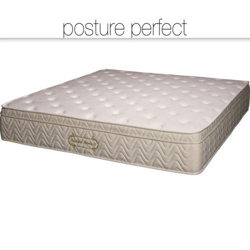 Posture Perfect memory foam mattress, premium mattress on bed frame